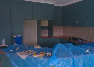 Kitchen Resurface Before